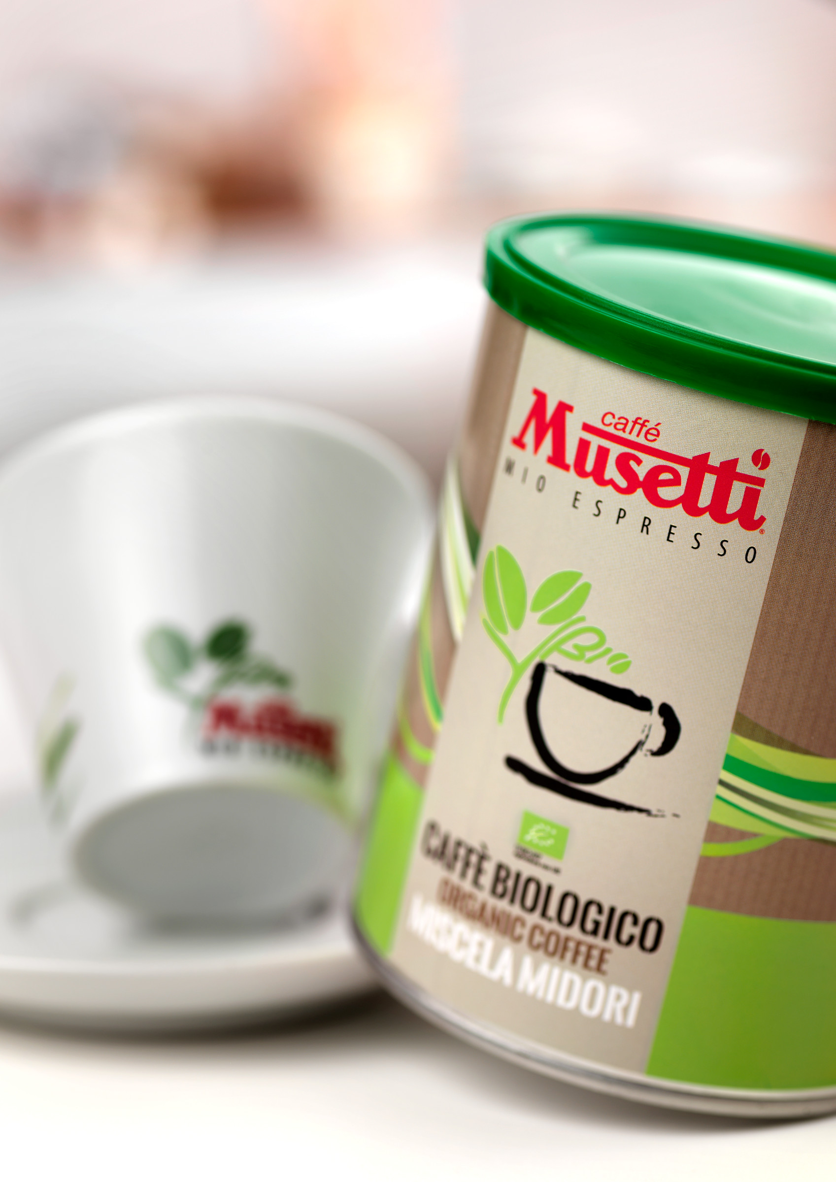 Musetti midori biologico organic coffee 250 g 8 8 for Musetti coffee