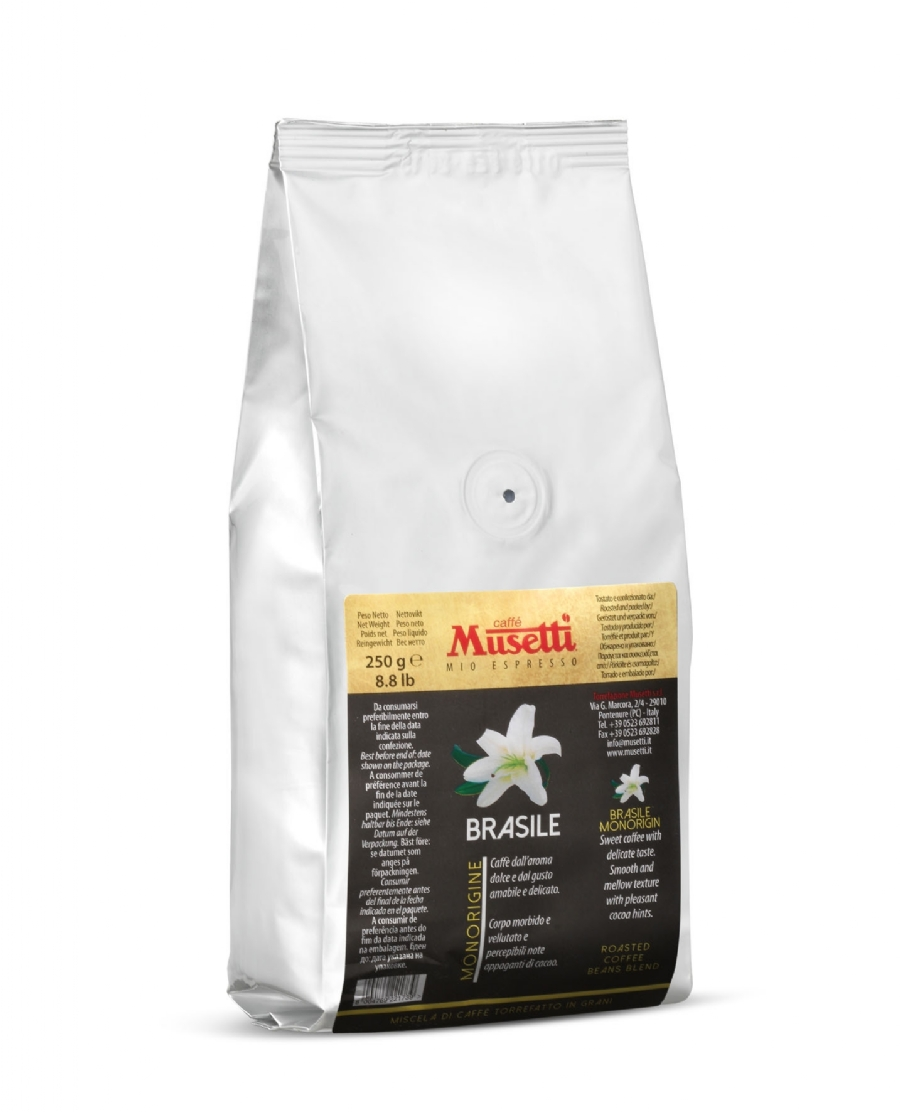 Musetti brasile single origin coffee 250 g 8 8 oz for Musetti coffee