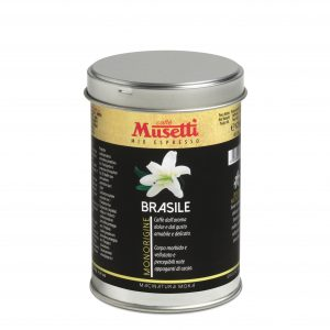 Bazil Single Origin Coffee by Musetti, 125 g tin