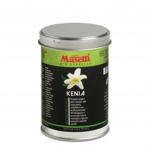 Kenya Single Origin Coffee by Musetti, 125 g tin