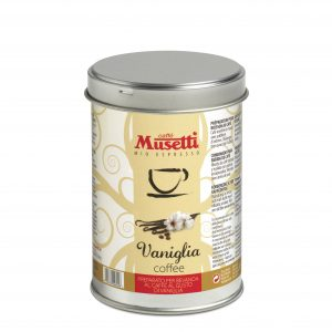 Vanilla Flavoured Coffee by Musetti, 125 g tin