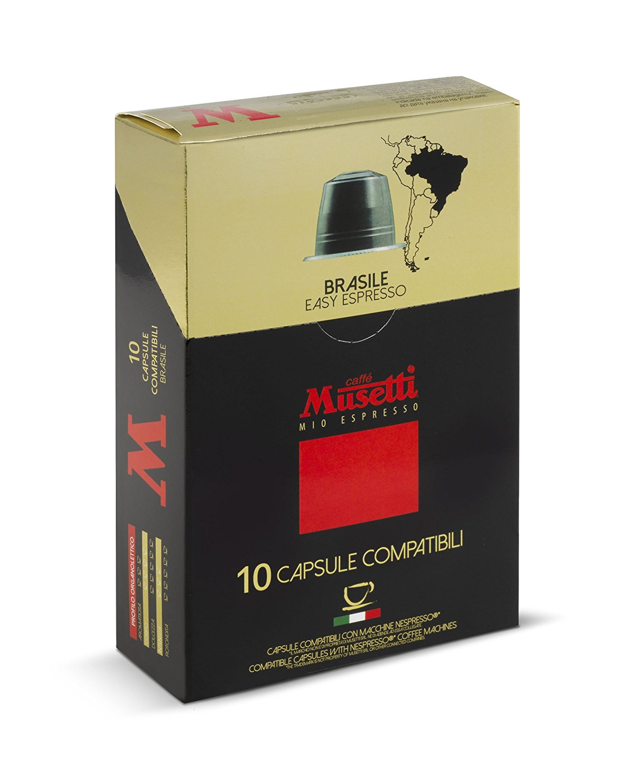 Musetti brasilesingle origin coffeenespresso compatible for Musetti coffee