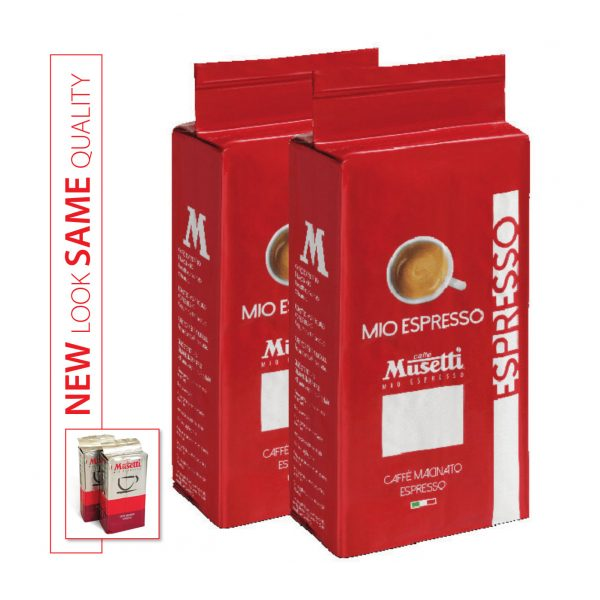 Mio Espresso (Rossa) · Ground Coffee · bag 250 gr (8.8 oz) - New Look