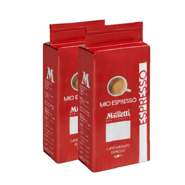 Mio Espresso (Rossa) · Ground Coffee · bag 250 gr (8.8 oz) - Double Pack