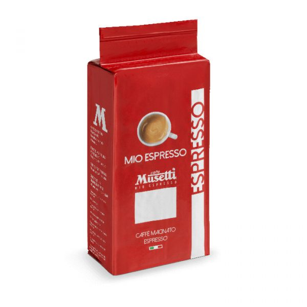 Mio Espresso (Rossa) · Ground Coffee · bag 250 gr (8.8 oz)