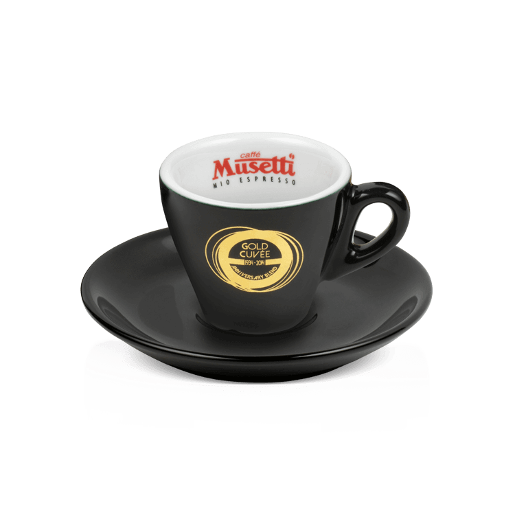 Cupset goldcuvee espresso musetti coffee usa for Musetti coffee