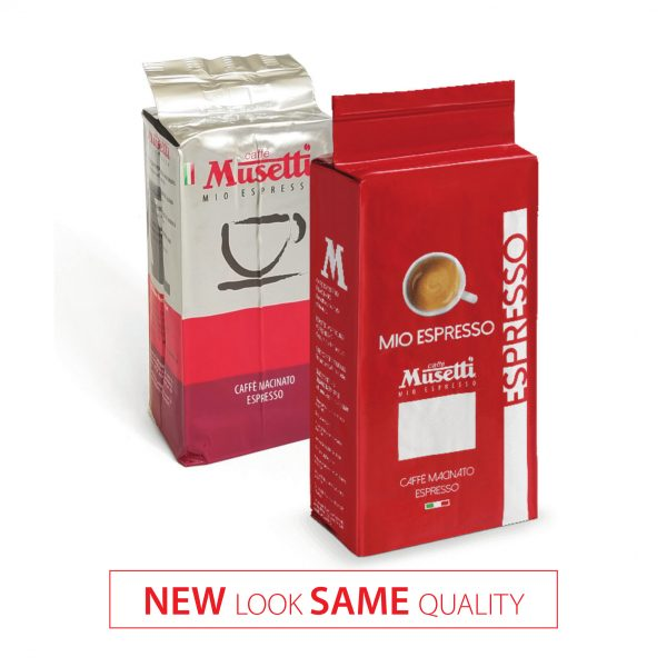 Mio Espresso (Rossa) · Ground Coffee · bag 250 gr (8.8 oz) - New Look 2019